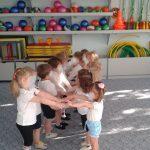 Подвижная игра в физкультурном зале